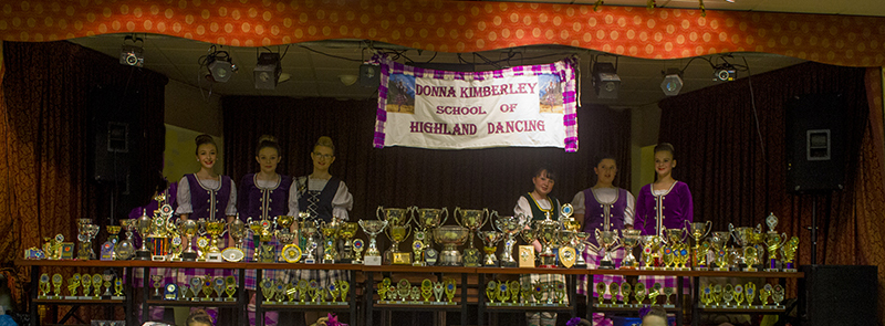 """Donna Kimberley School of Highland Dancing"""